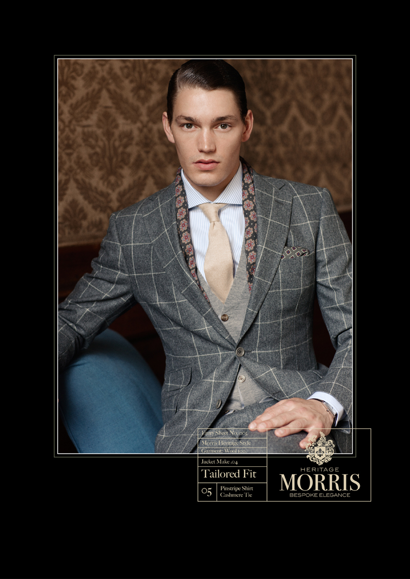 MORRIS HERITAGE A/W 2011 ADVERTISING